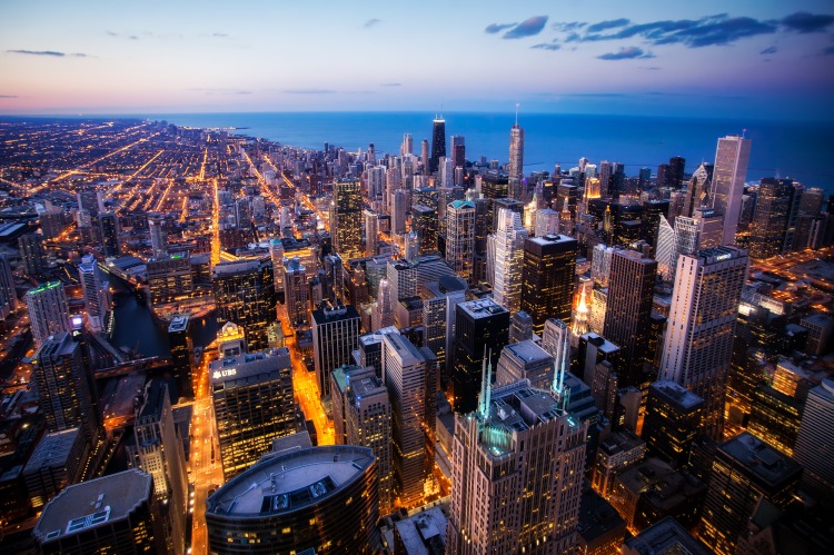 Chicago-Skyline-from-the-Willis-Tower-by-Michael-Matti